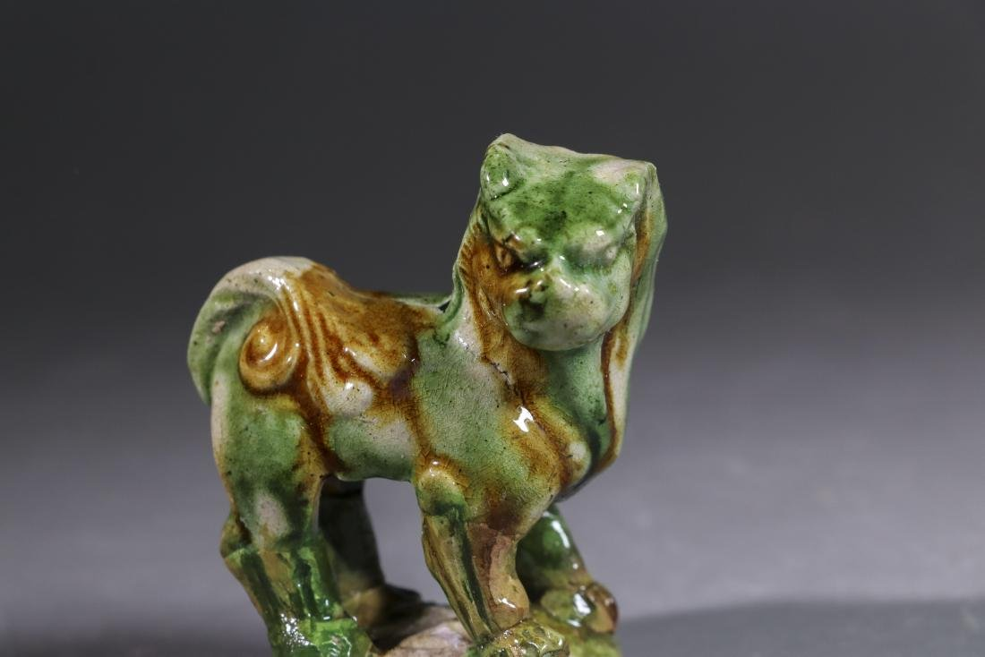 A SANCAI LION GONGXIAN TANG DYNASTY(618-907)