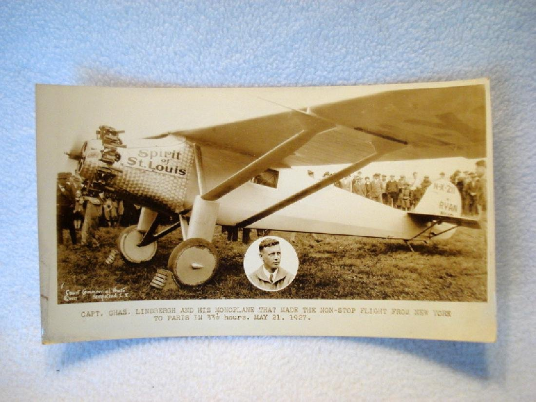 Charles Lindbergh's Spirit of St. Louis stock
