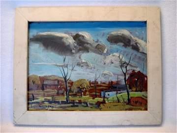 Emile Walters O/M landscape