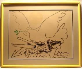 Original Framed Pablo Picasso Color Lithograph