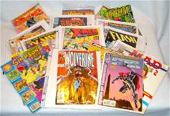 Lot of 25 various comics from the early 1990's