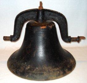 Cast Iron School Bell