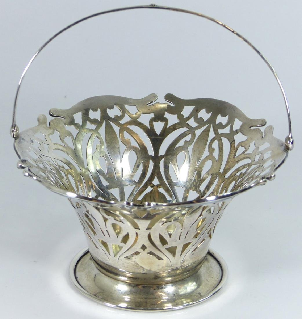 SMITH PATTERSON STERLING SILVER RETICULATED BASKET - 2