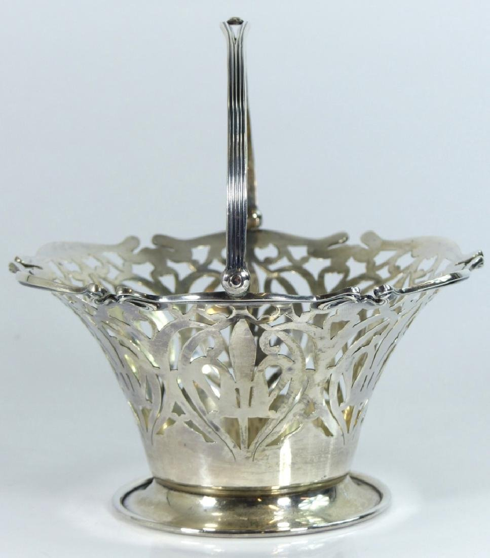 SMITH PATTERSON STERLING SILVER RETICULATED BASKET - 3