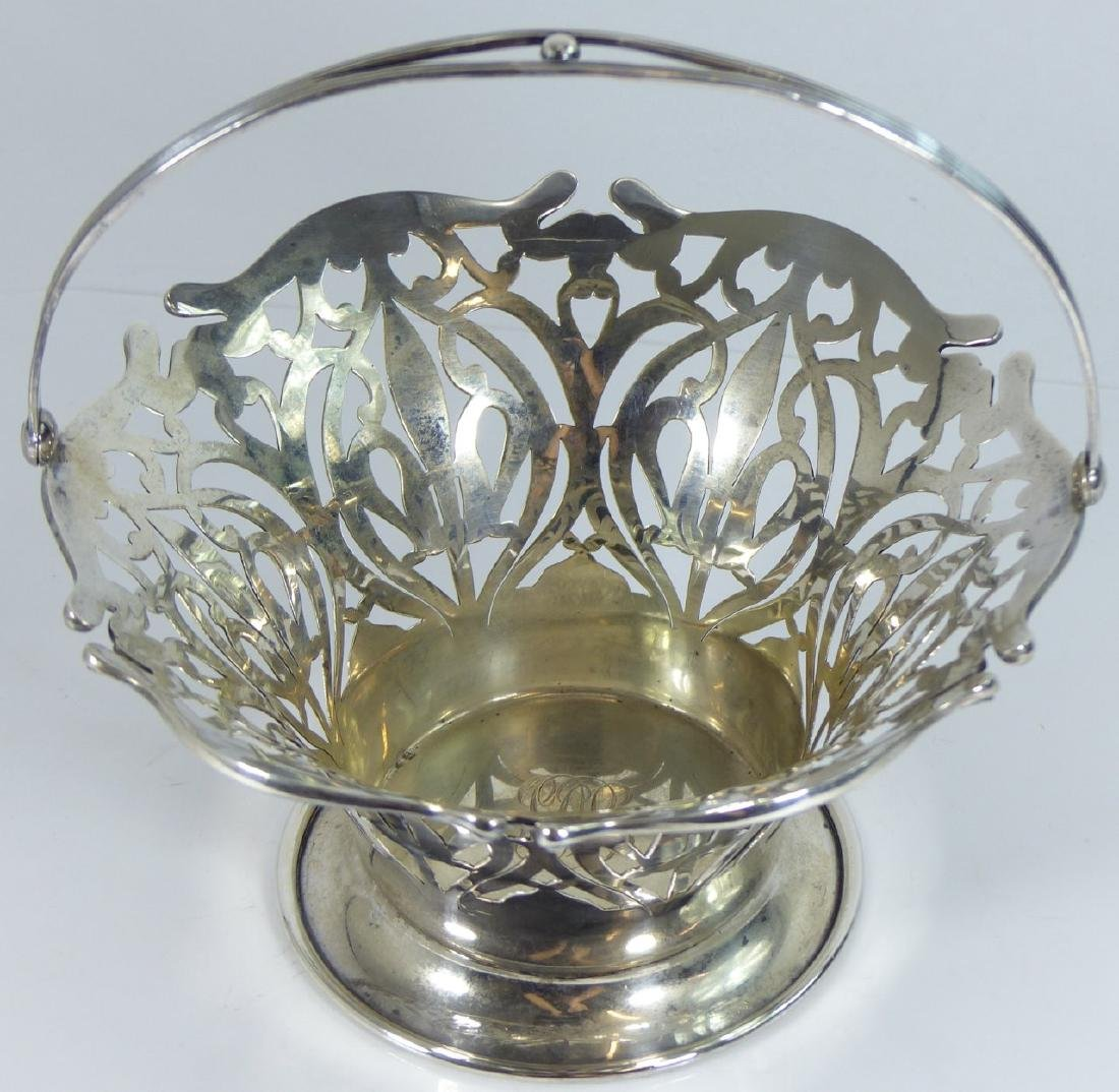 SMITH PATTERSON STERLING SILVER RETICULATED BASKET - 5