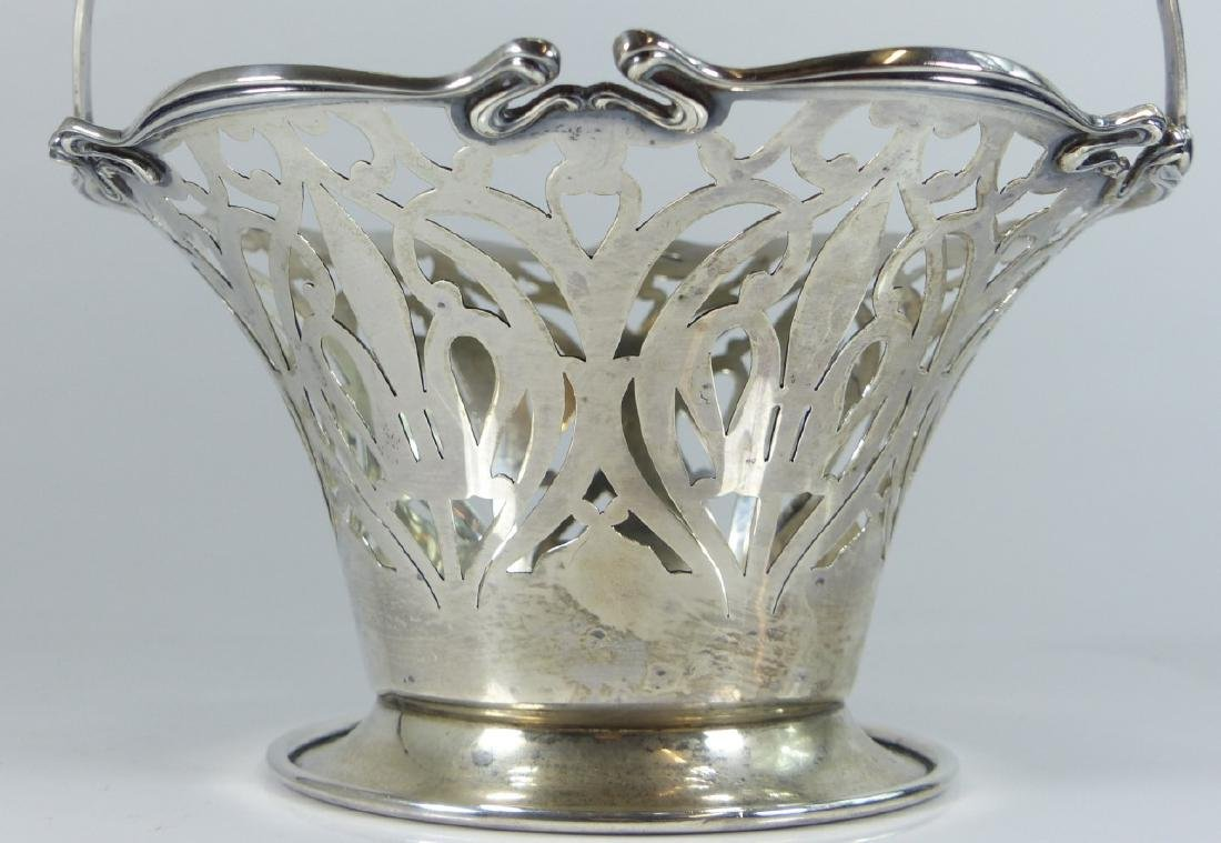 SMITH PATTERSON STERLING SILVER RETICULATED BASKET - 8