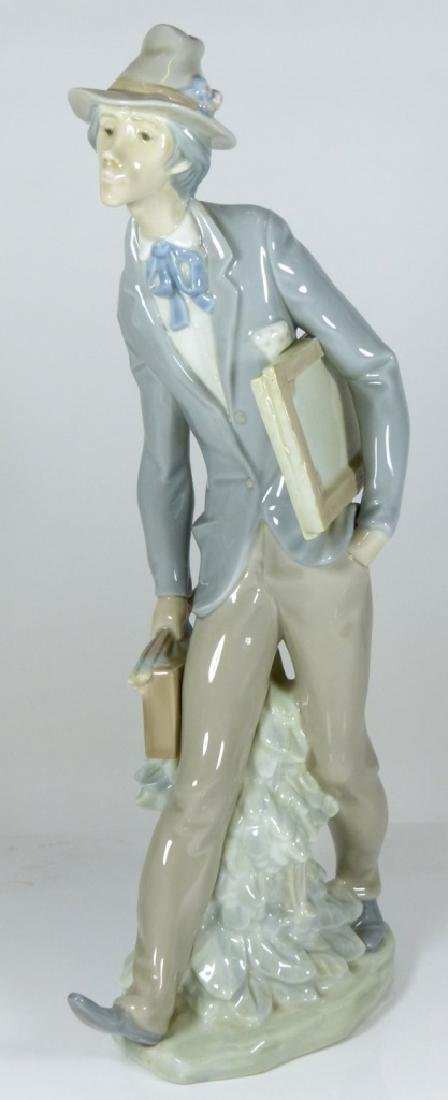 LLADRO 'THE ARTIST' PORCELAIN FIGURE #4732