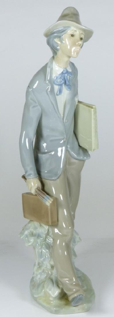 LLADRO 'THE ARTIST' PORCELAIN FIGURE #4732 - 2
