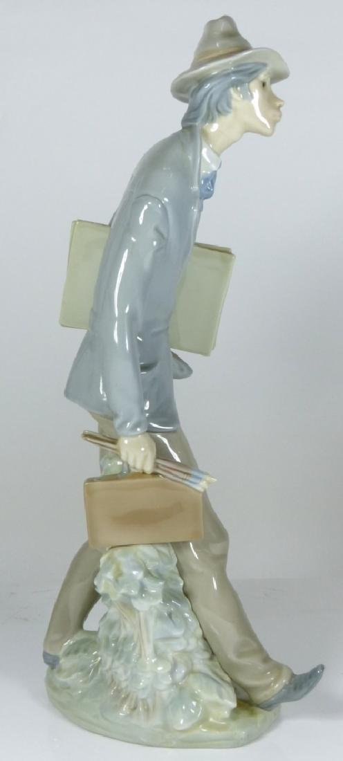 LLADRO 'THE ARTIST' PORCELAIN FIGURE #4732 - 3