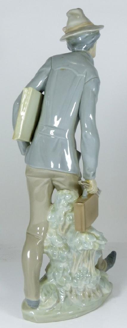 LLADRO 'THE ARTIST' PORCELAIN FIGURE #4732 - 4