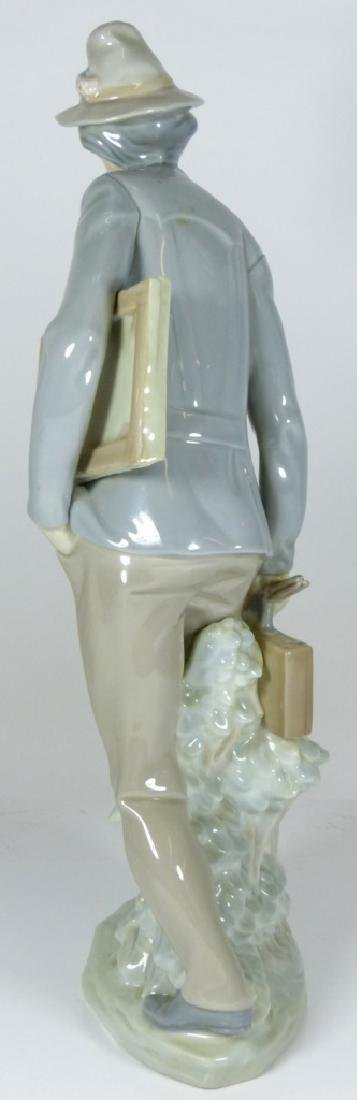 LLADRO 'THE ARTIST' PORCELAIN FIGURE #4732 - 5