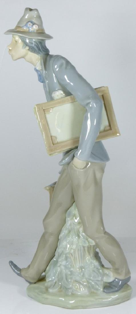 LLADRO 'THE ARTIST' PORCELAIN FIGURE #4732 - 6