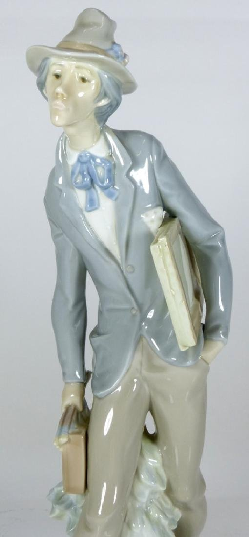 LLADRO 'THE ARTIST' PORCELAIN FIGURE #4732 - 7