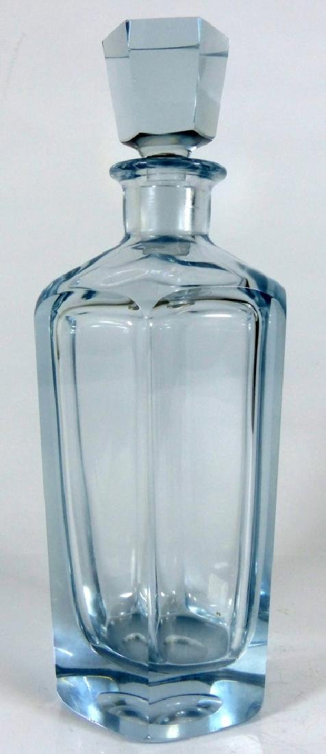 SWEDISH CRYSTAL DECANTER & STOPPER SIGNED