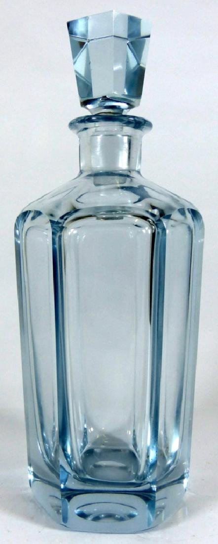 SWEDISH CRYSTAL DECANTER & STOPPER SIGNED - 2