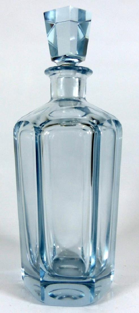 SWEDISH CRYSTAL DECANTER & STOPPER SIGNED - 3