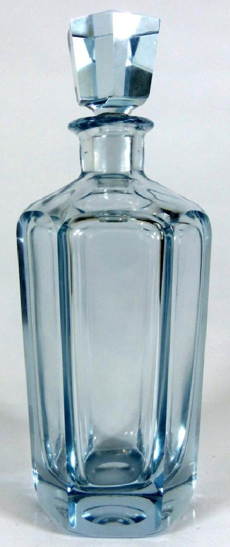 SWEDISH CRYSTAL DECANTER & STOPPER SIGNED - 4