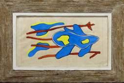 FERNAND LEGER GOUACHE INK & PENCIL ON PAPER
