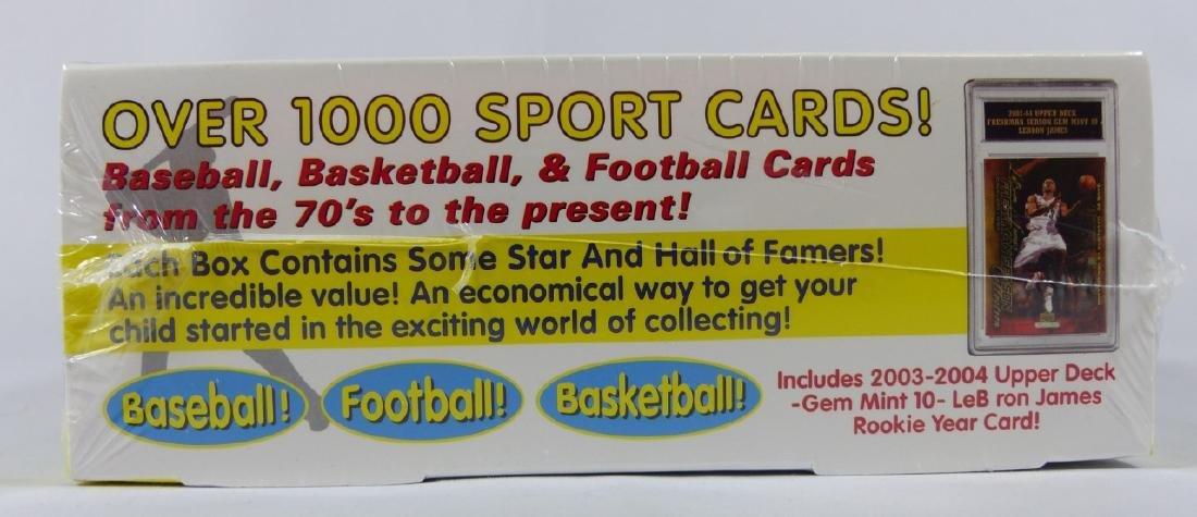MY FIRST 1000 SPORTS CARD COLLECTION w LEBRON - 4