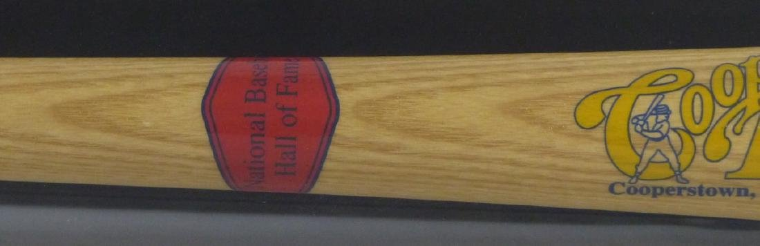 BOBBY DOERR SIGNED BAT w DISPLAY CASE - 5