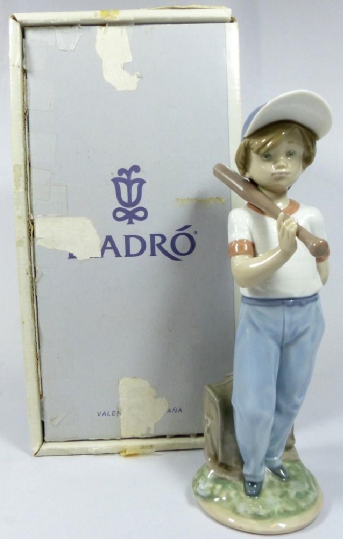 LLADRO 'CAN I PLAY' 7610 PORCELAIN FIGURINE w BOX - 8