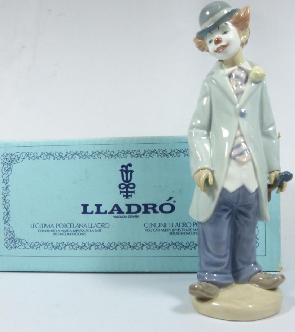LLADRO 'CIRCUS SAM' 5472 PORCELAIN FIGURINE w BOX - 7