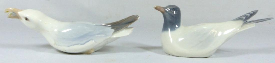 2pc ROYAL COPENHAGEN & B&G PORCELAIN BIRD FIGURES - 4