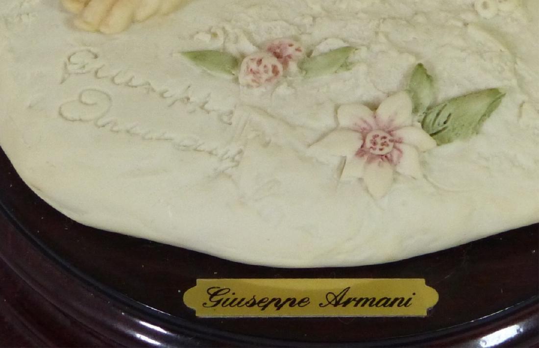 GIUSEPPE ARMANI 'WISTERIA' PORCELAIN FIGURE w BOX - 6