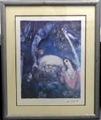 MARC CHAGALL LIMITED EDITION FACSIMILE LITHOGRAPH
