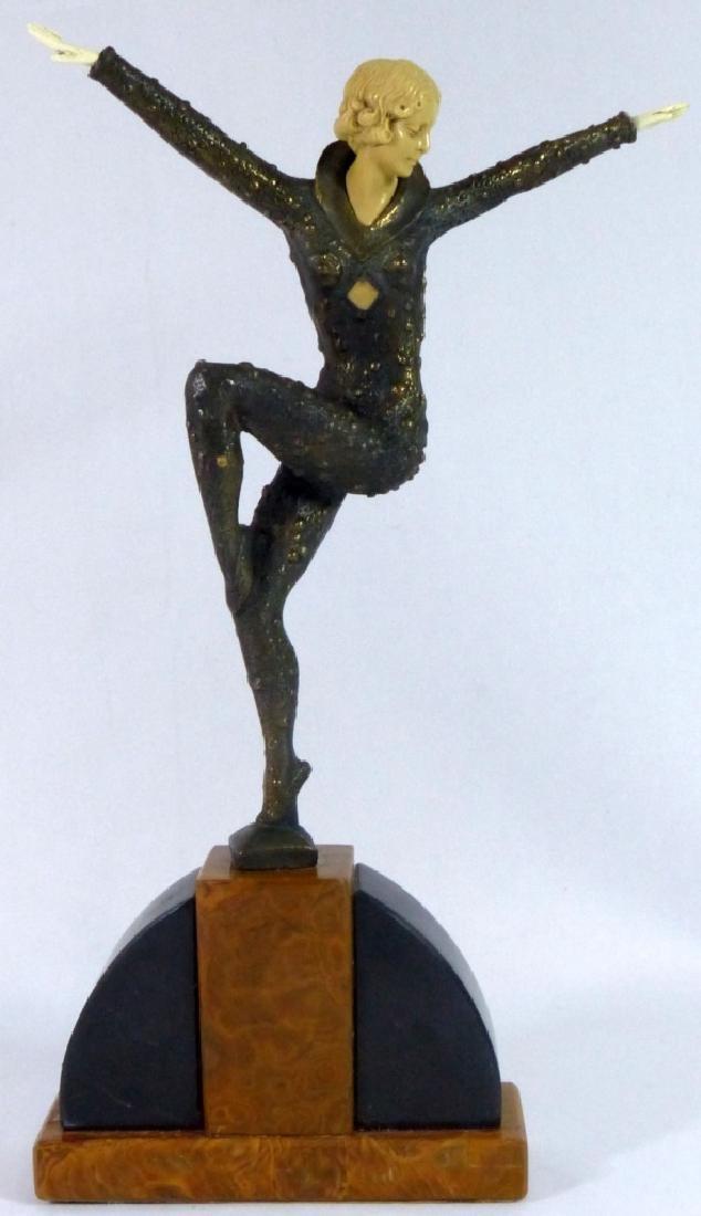 DEMETRE CHIPARUS BRONZE DANCER SCULPTURE