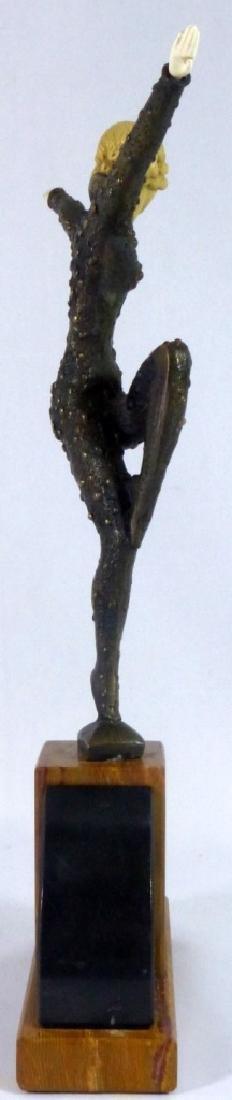 DEMETRE CHIPARUS BRONZE DANCER SCULPTURE - 6