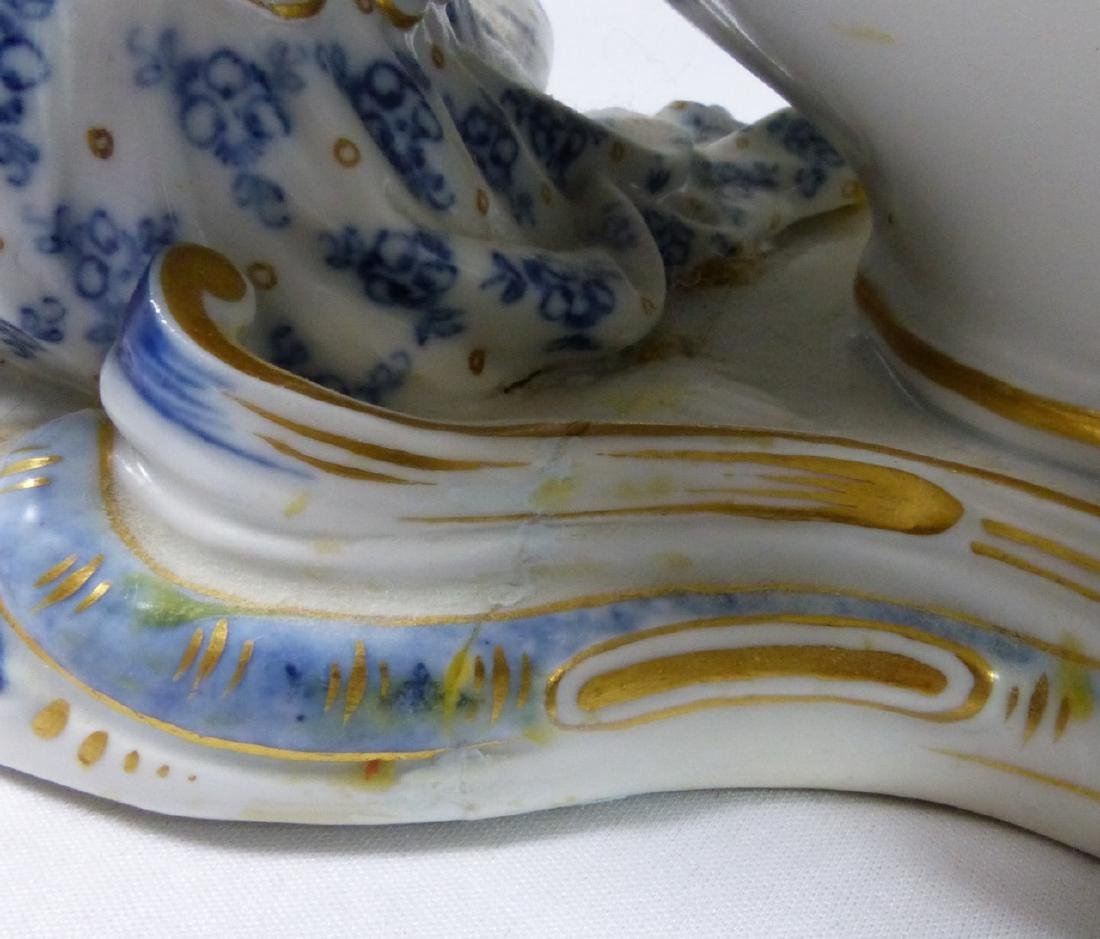 PR MEISSEN PORCELAIN FIGURAL SWEETMEAT DISHES - 10