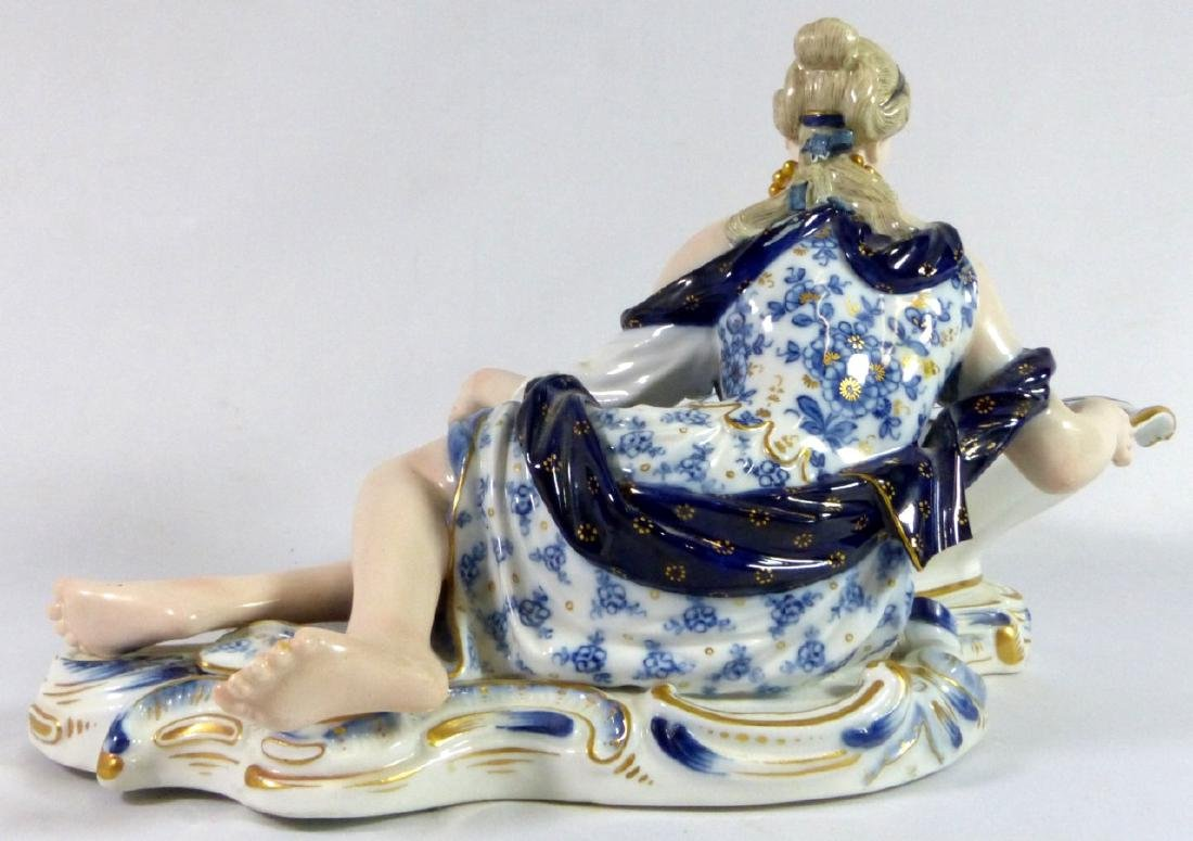 PR MEISSEN PORCELAIN FIGURAL SWEETMEAT DISHES - 4