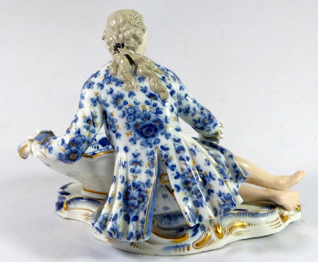 PR MEISSEN PORCELAIN FIGURAL SWEETMEAT DISHES - 6