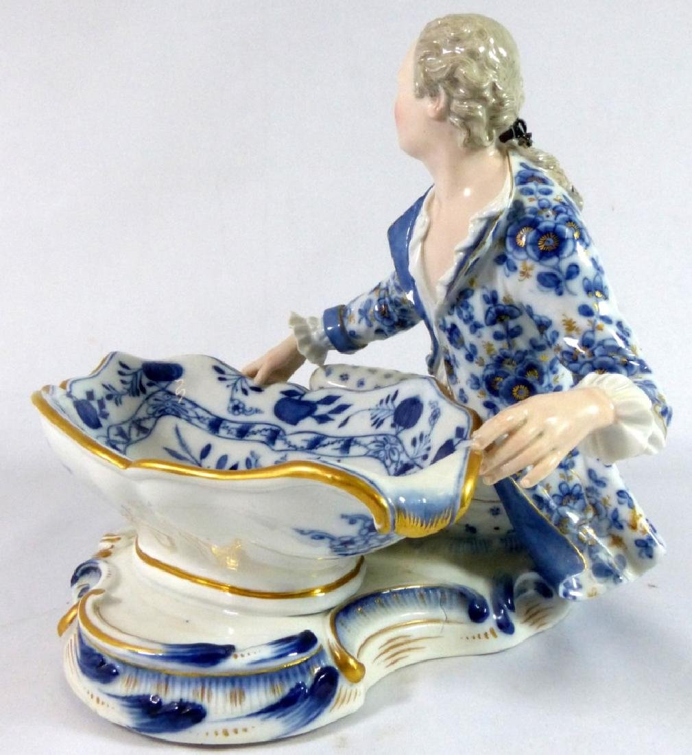 PR MEISSEN PORCELAIN FIGURAL SWEETMEAT DISHES - 7