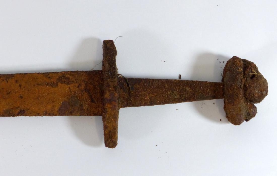 MEDIEVAL IRON VIKING SWORD - 2