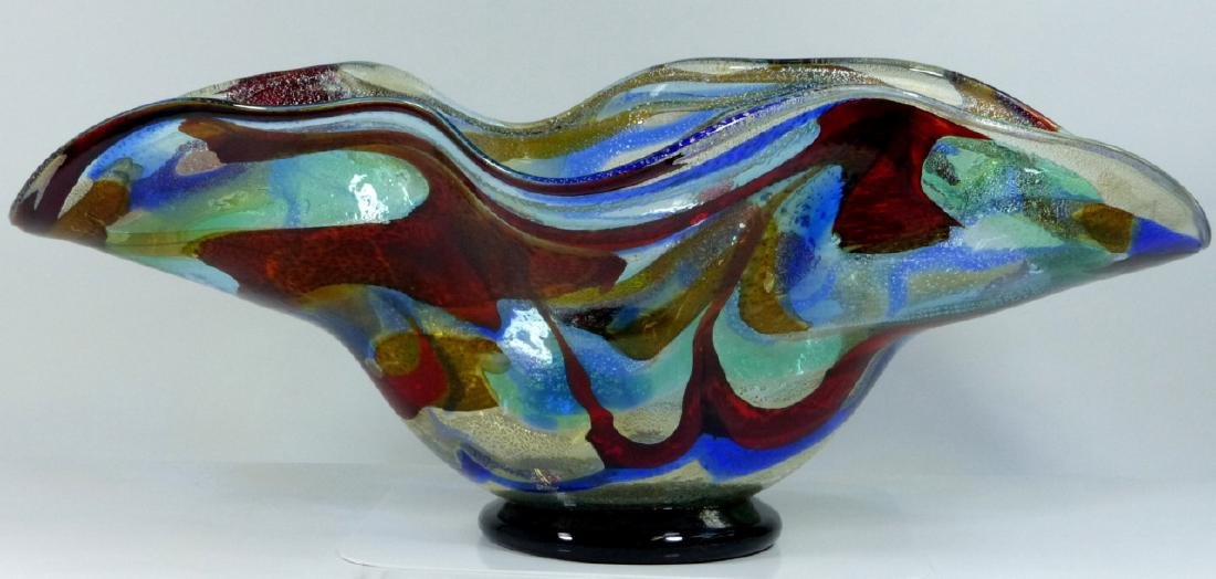 SERGIO COSTANTINI MURANO ART GLASS CENTER BOWL