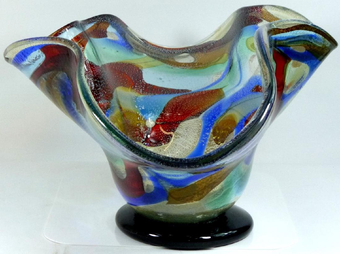 SERGIO COSTANTINI MURANO ART GLASS CENTER BOWL - 3