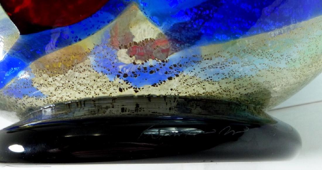 SERGIO COSTANTINI MURANO ART GLASS CENTER BOWL - 8