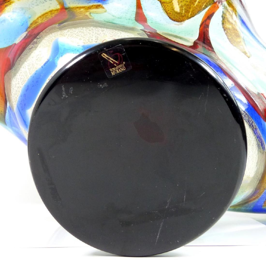 SERGIO COSTANTINI MURANO ART GLASS CENTER BOWL - 9