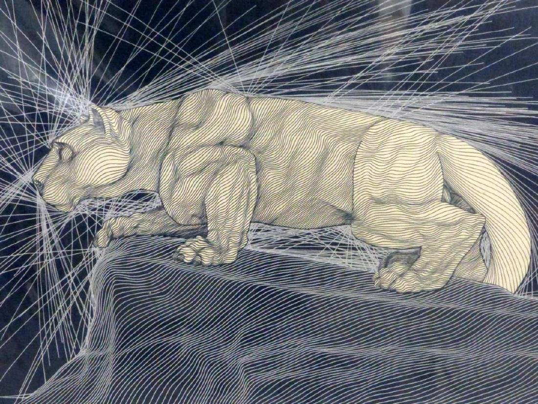 GUILLAUME AZOULAY 'NITTANY LION' SILKSCREEN - 2