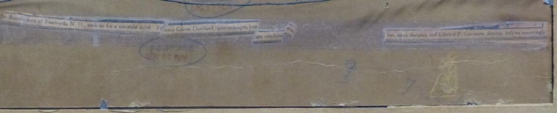 AL HIRSCHFELD 'THE BARNSTORMERS' PEN & INK / BOARD - 5