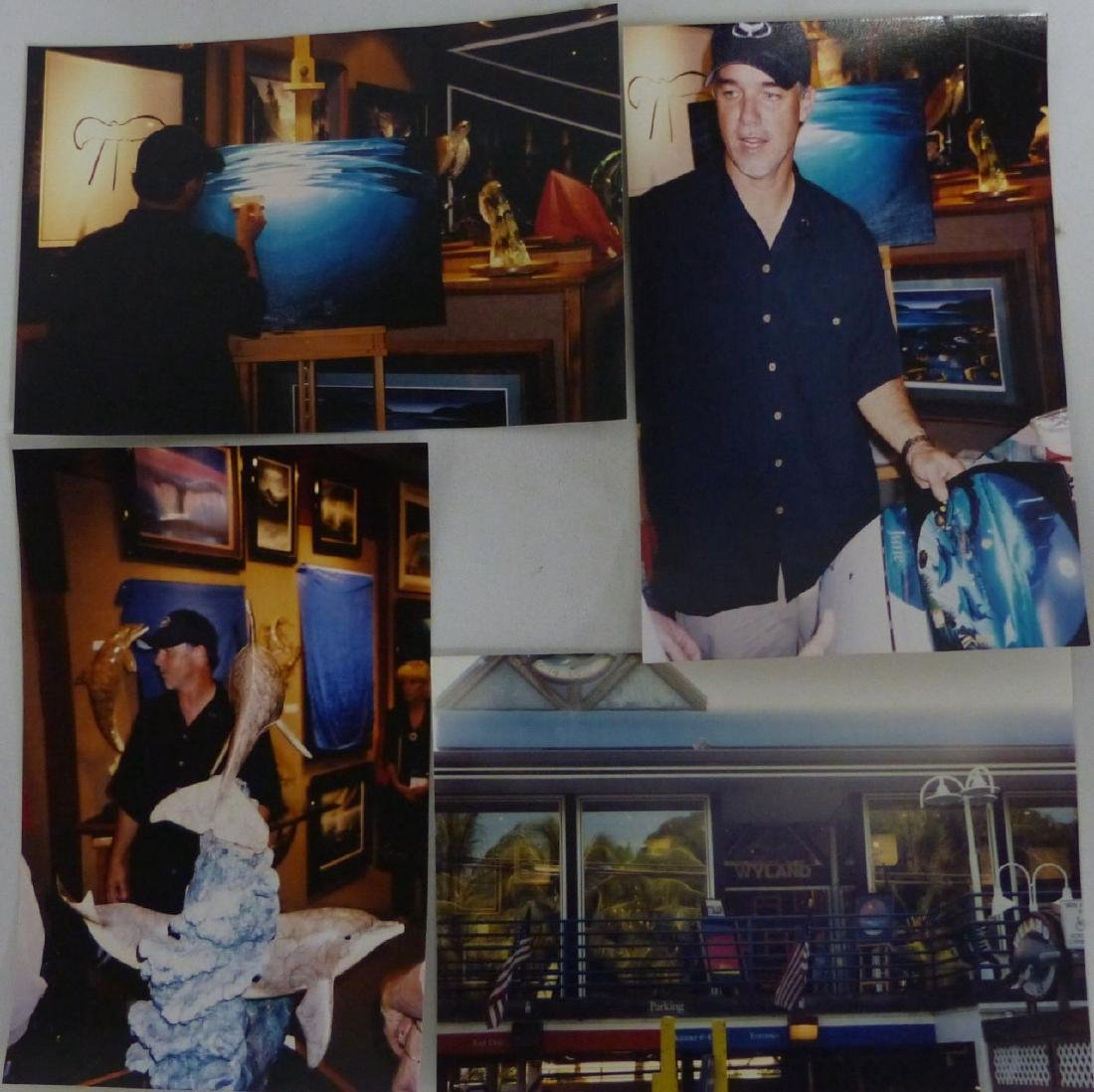 3pc ROBERT WYLAND HAND SIGNED SUITE - 10