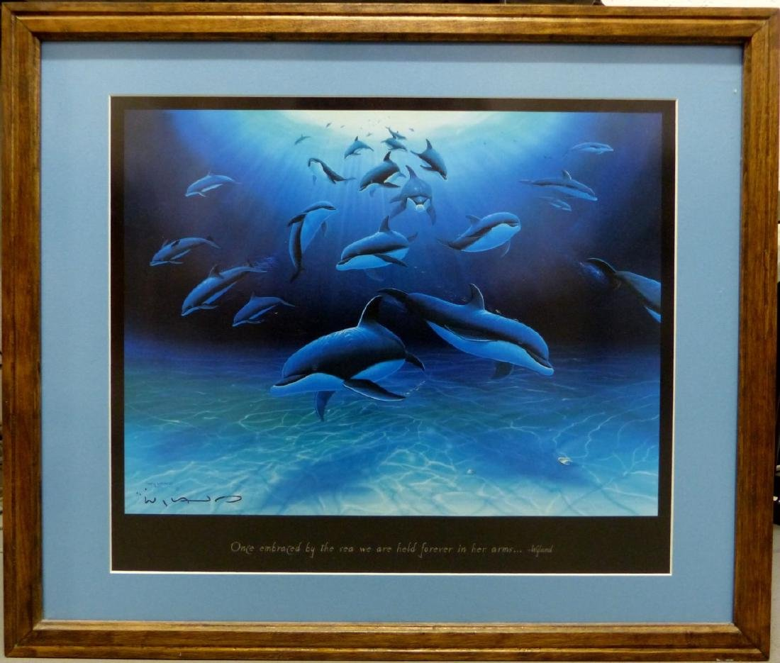 3pc ROBERT WYLAND HAND SIGNED SUITE