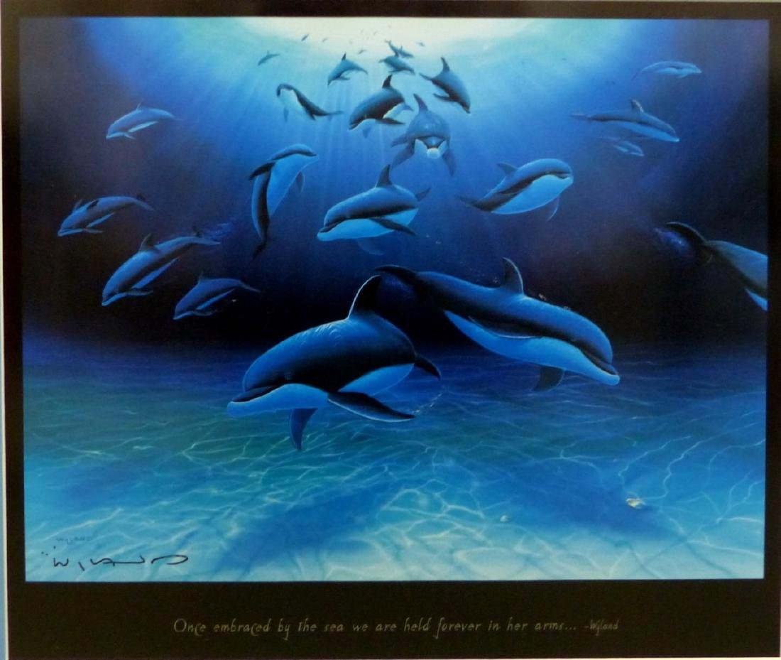 3pc ROBERT WYLAND HAND SIGNED SUITE - 2