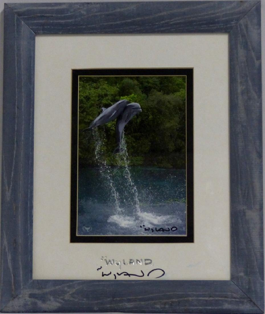 3pc ROBERT WYLAND HAND SIGNED SUITE - 4
