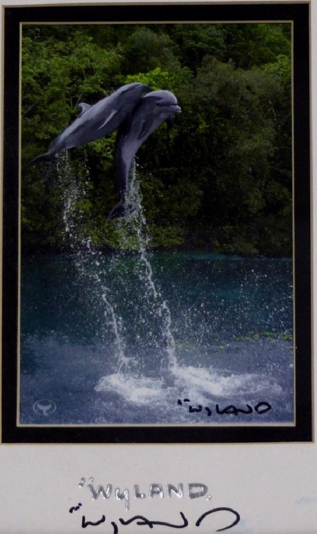 3pc ROBERT WYLAND HAND SIGNED SUITE - 5
