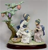 LLADRO MOTHERS WAY 5946 PORCELAIN FIGURE w BOX