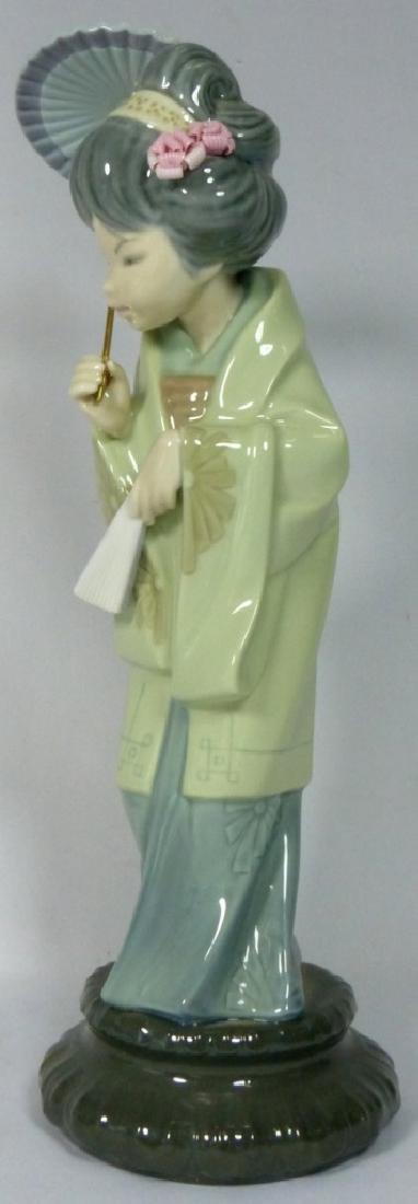 LLADRO 'ORIENTAL SPRING' 4988 FIGURINE w BOX - 2