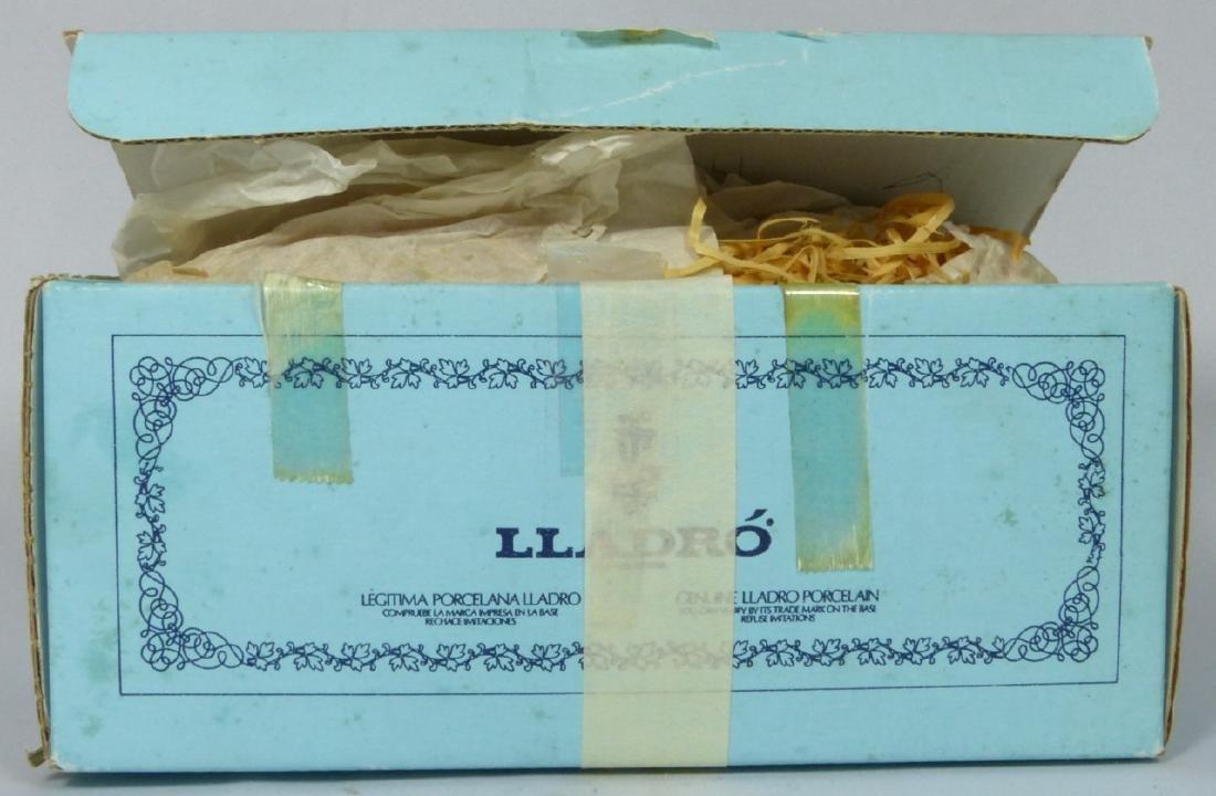 LLADRO 'DUCKLINGS' 4895 PORCELAIN FIGURINE w BOX - 7